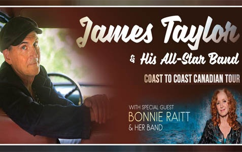 James Taylor With Bonnie ...